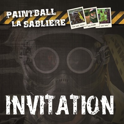 Invitation paintball ld