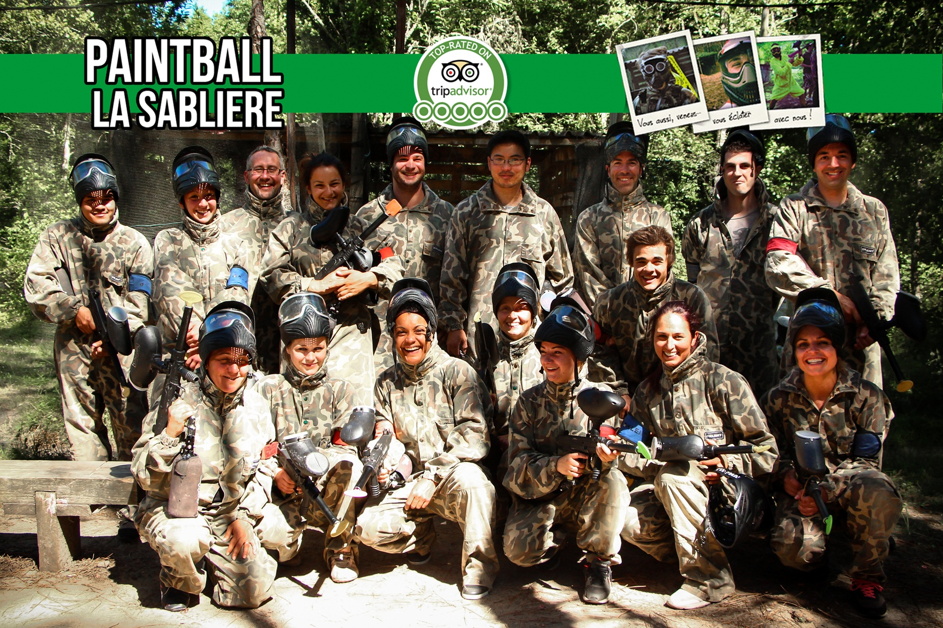 Paintball la Sablière
